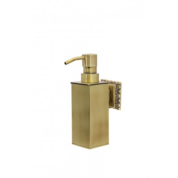 Дозатор для мыла настенный MILACIO MC.918.BR, бронза ( коллекция Alicante )