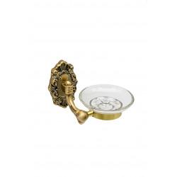 Держатель для мыла настенный MILACIO MC.921.BR, бронза ( коллекция Valls )