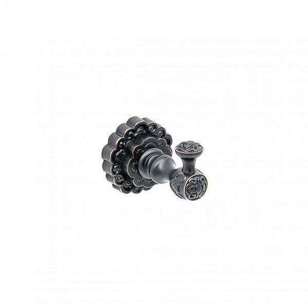 Крючок для полотенца MILACIO MC.901.BBR, чёрная бронза ( коллекция Villena )