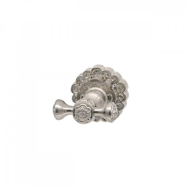 Крючок для полотенца двойной MILACIO MC.902.SL, серебро ( коллекция Villena )