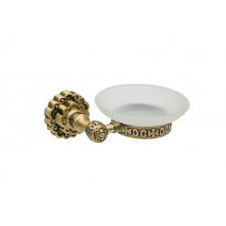 Держатель для мыла настенный MILACIO MC.905.BR, бронза ( коллекция Villena )