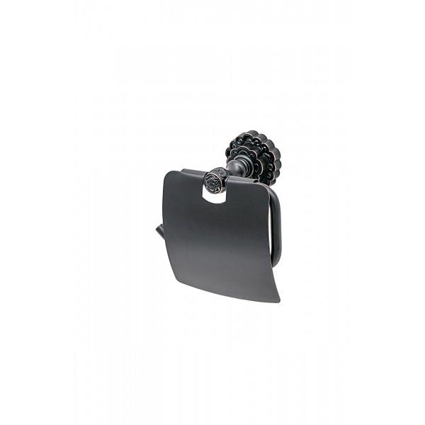 Держатель туалетной бумаги настенный MILACIO MC.906.BBR, чёрная бронза ( коллекция Villena )