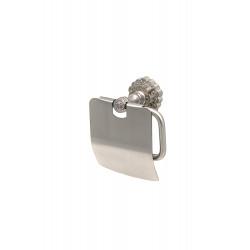Держатель туалетной бумаги настенный MILACIO MC.906.SL, серебро ( коллекция Villena )
