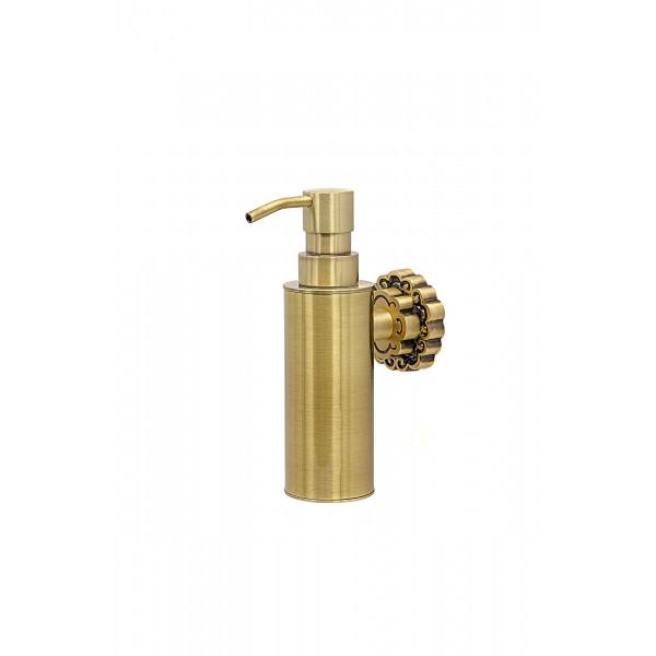 Дозатор для мыла настенный MILACIO MC.908.BR, бронза ( коллекция Villena )