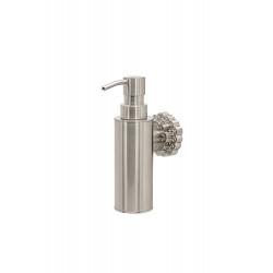 Дозатор для мыла настенный MILACIO MC.908.SL, серебро ( коллекция Villena )