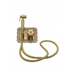 Гигиенический душ MILACIO MC.800.BR скрытого монтажа, бронза ( коллекция Vitoria )