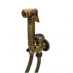 Гигиенический душ MILACIO MC.802.BR, бронза ( коллекция Carletta )