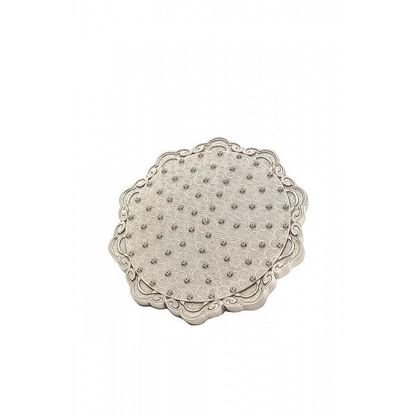Верхний душ MILACIO MC.002.SL, серебро ( цветок )