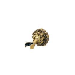 Держатель ручной лейки настенный MILACIO MC.003.BR, бронза