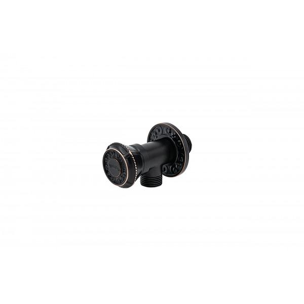 Запорный вентиль MILACIO MC.007.BBR, чёрная бронза