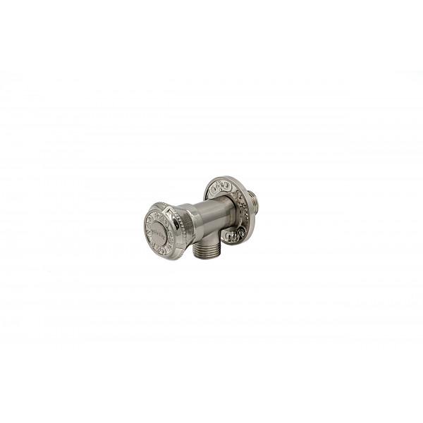 Запорный вентиль MILACIO MC.007.SL, серебро