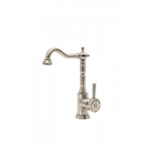 Смеситель для кухни MILACIO MC.509.SL, серебро ( коллекция Villena )